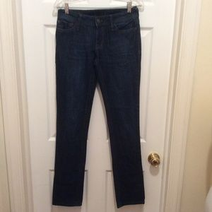 DL1961 Jeans 28 Blue Dark Wash Kate Slim Straight